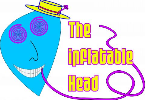Inflatable Head Word logo